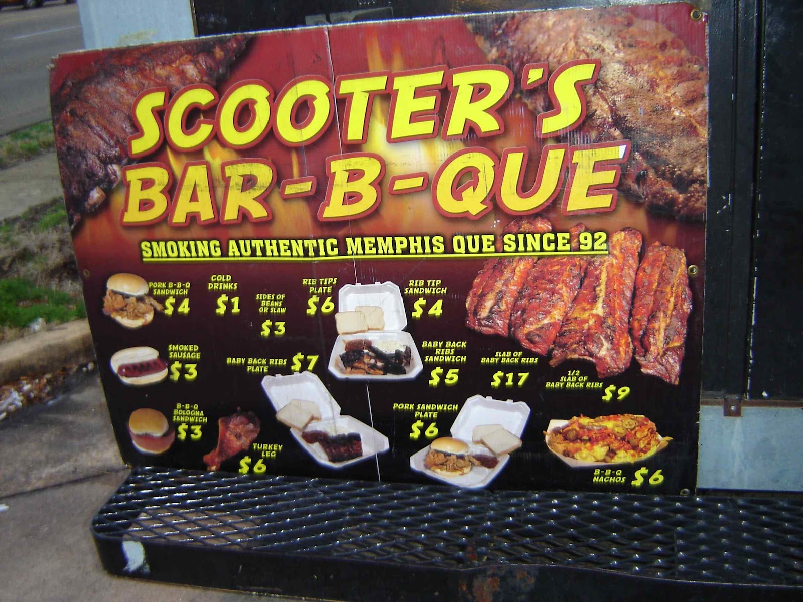Scooters Bbq Memphis Tn