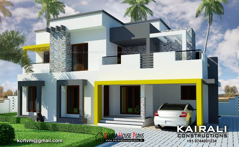 Double floor Contemporary house design