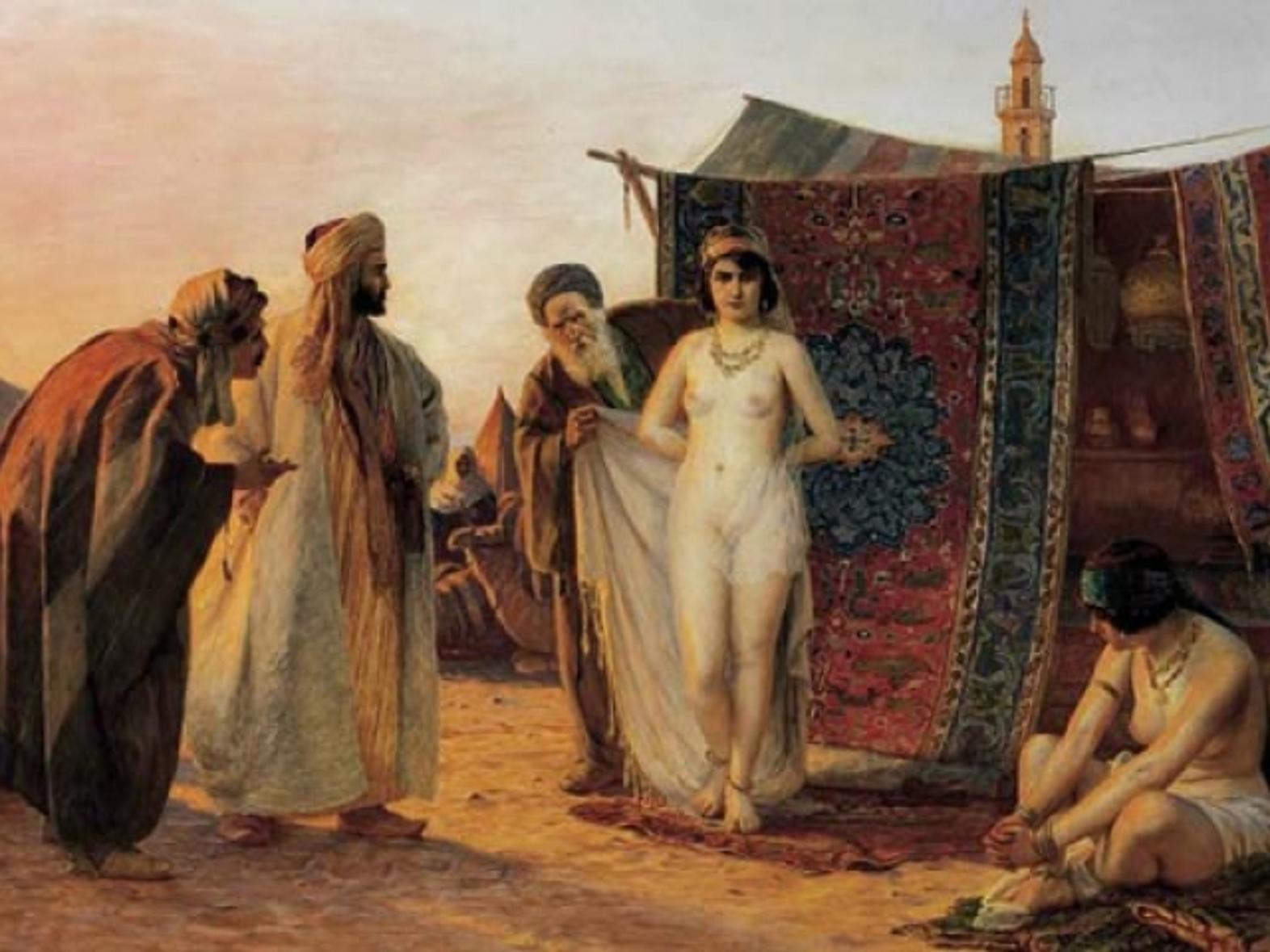 Рабыни картинки рисунки фото, История искусств: Торговля голыми рабынями на Востоке 22 фотография