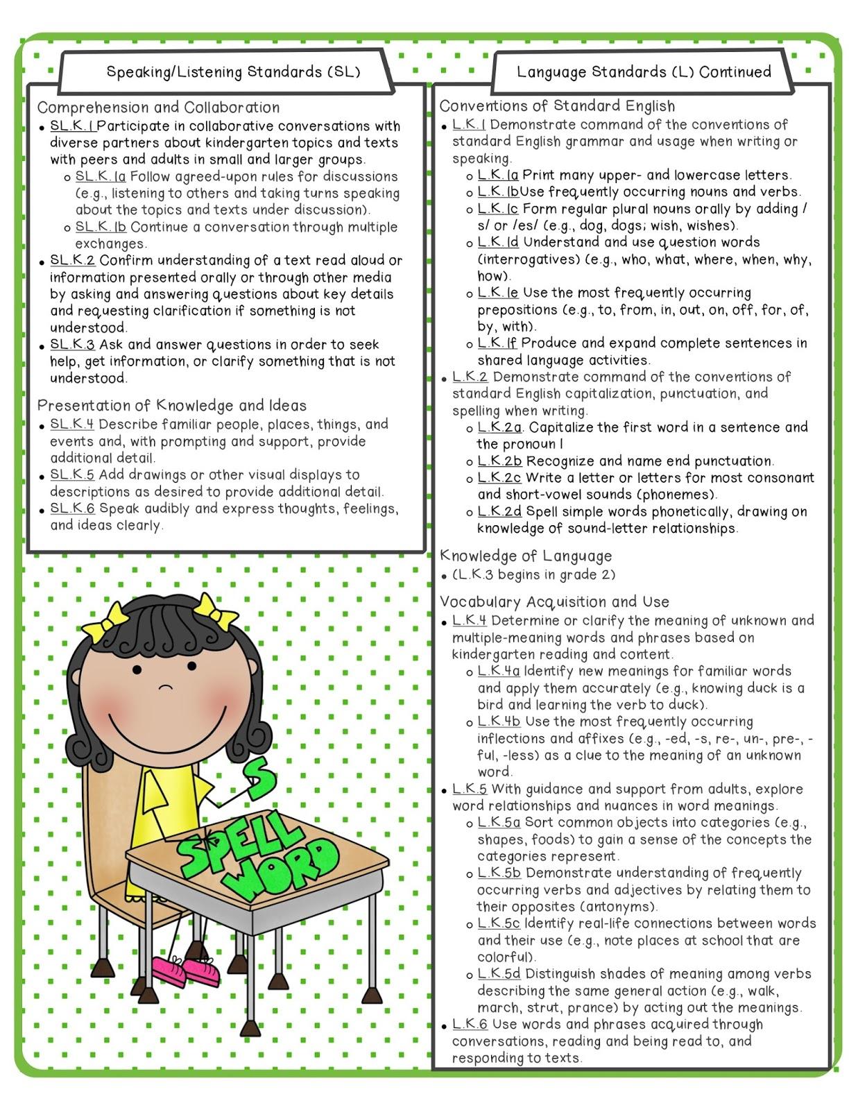 The Apple Tree Room Kindergarten Common Core Math And Ela