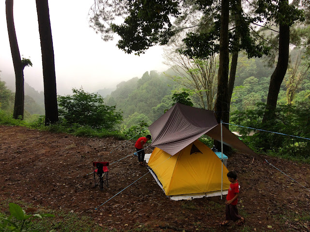 tenda kami di Sukamantri