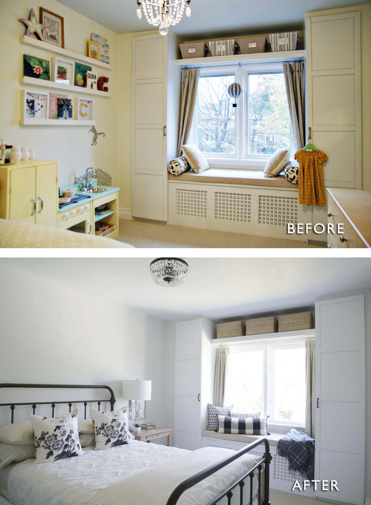 farmhouse guest bedroom, simple guest bedroom