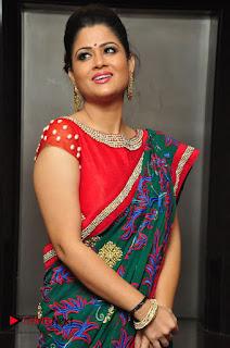 Shilpa Chakravarthy Pictures in Saree at Women Anthem Album Launch  0015.JPG