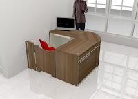 Interior Ruang Lobi Kantor - Furniture Kantor Semarang