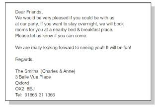 Contoh surat undangan ulang tahun
