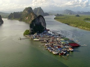 Koh Panyee Fishing VIllage, Phang Nga Bay Thailand