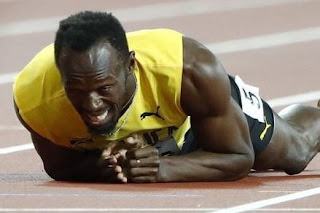 Sprinter Usain Bolt career ends in injury
