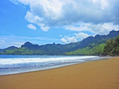 Pantai Bandealit, Taman Nasional Merubetiri, Jember-Banyuwangi.