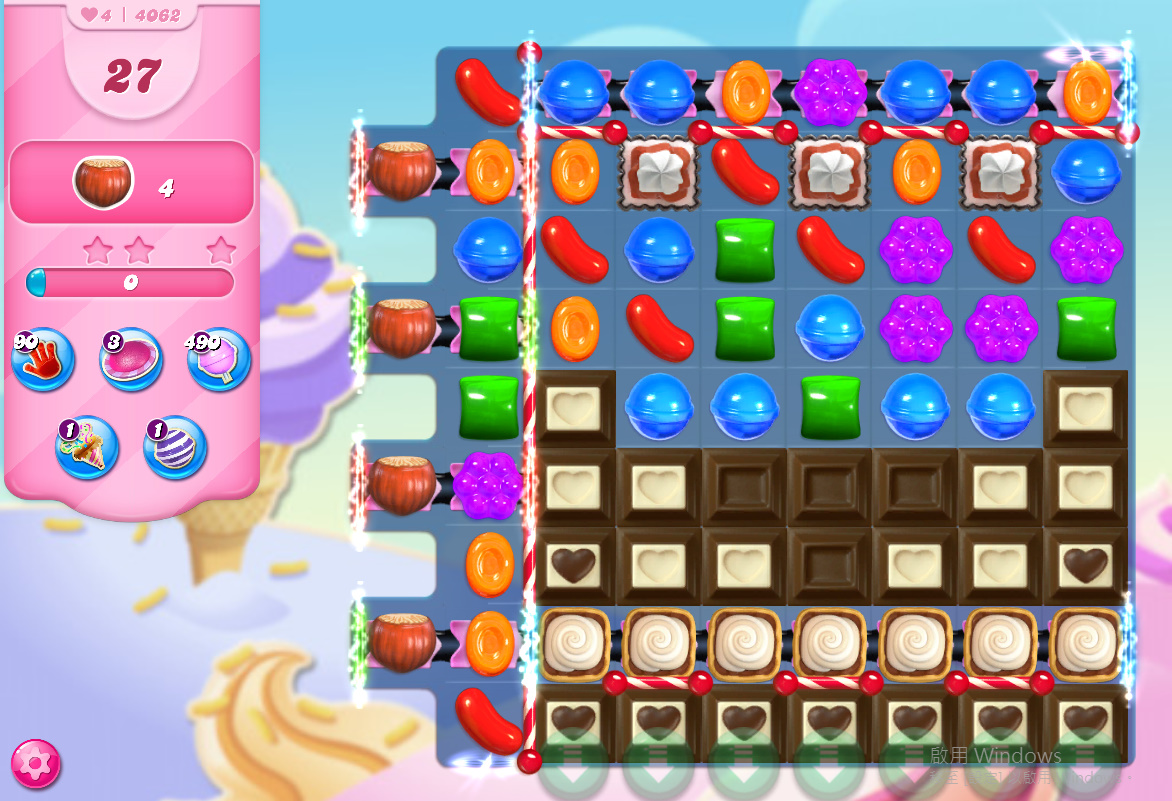 Candy Crush Saga level 4062
