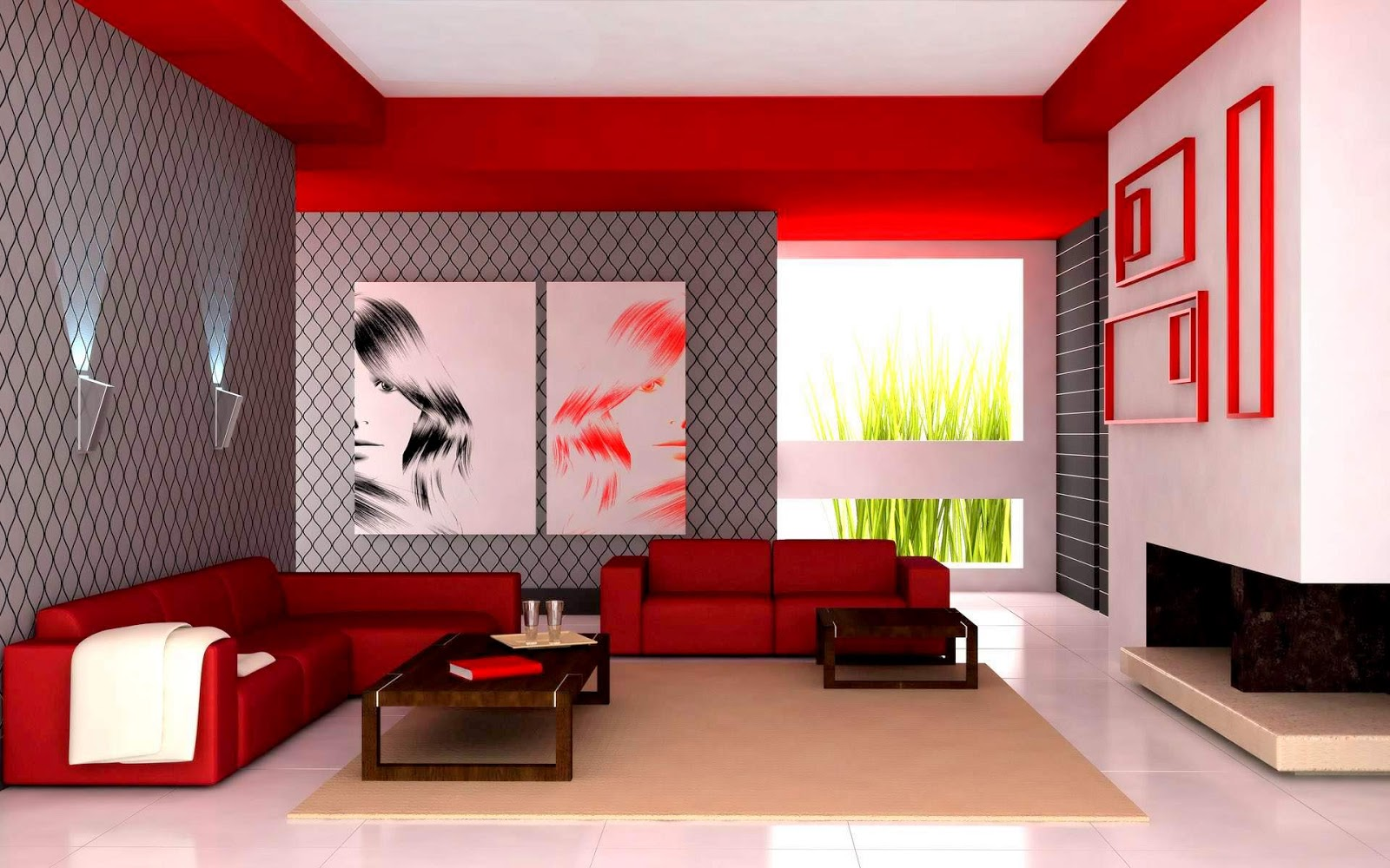 Kombinasi Warna Cat Ruang Tamu Klik Gambar Untuk Memeperjelas