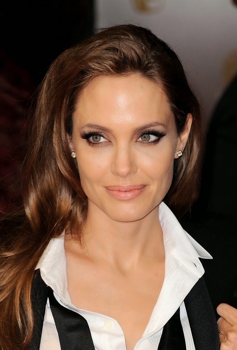 Angelina Jolie Look Using All Drugstore Makeup: Best Hairstyle And Trends Hairstyles: August 2014