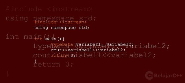 Variabel C++