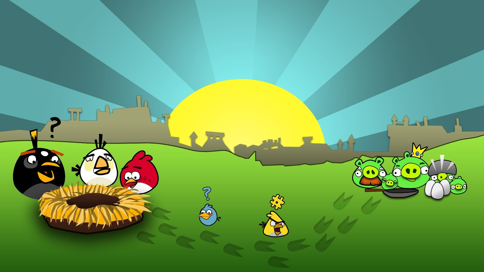 Collections of Angry Birds Editions For Android Smartphone ...