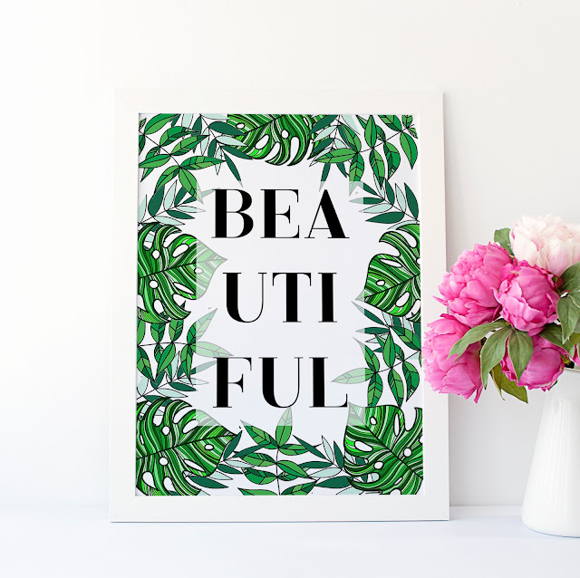 free botanical printable