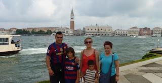 San Marcos vista desde la isla de San Giorgio Maggiore.