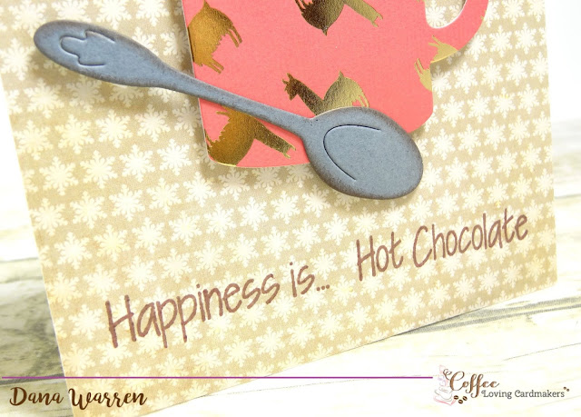 Dana Warren - Kraft Paper Stamps - Coffee Loving Cardmakers The Stamps of Life Hot Chocolate