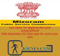 http://www.jobnes.com/2017/10/mizoram-public-service-commission.html Done