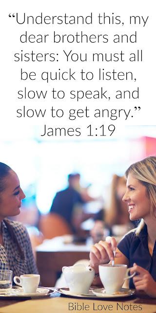 "Good Listeners ""Shine"" - James 1:19"