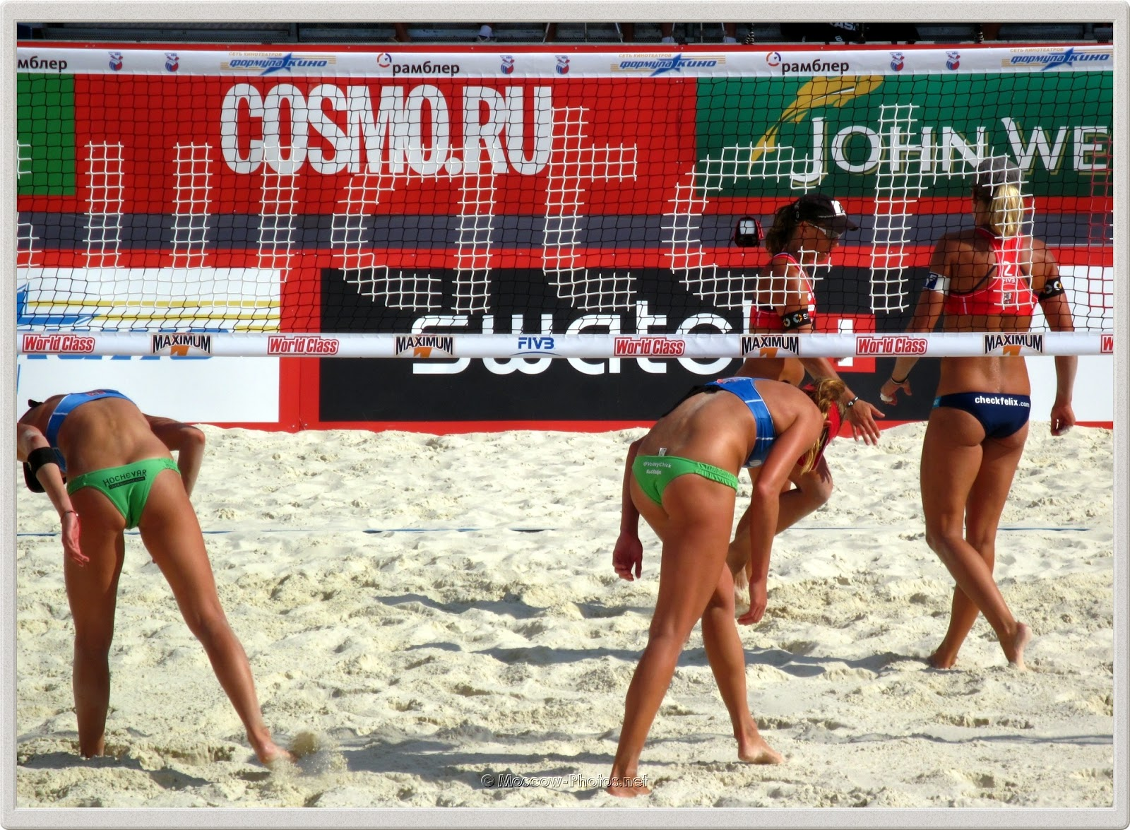 FIVB Beach Volleyball Swatch World Tour. Grand Slam Moscow 2011.