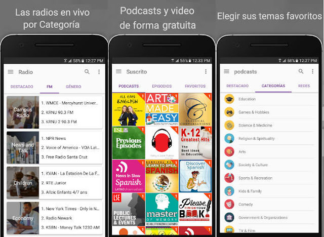 Las 5 apps más populares de la Google Play en 2016: CastBox