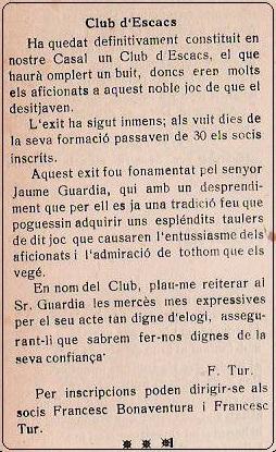 Obra Cristiana nº 71, Junio de 1928