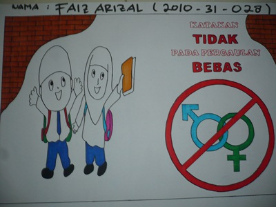 Contoh Gambar Poster Seks Bebas Jawat Kos