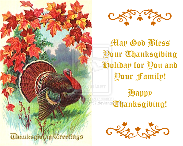 Thanksgiving Greetings Cards 2018