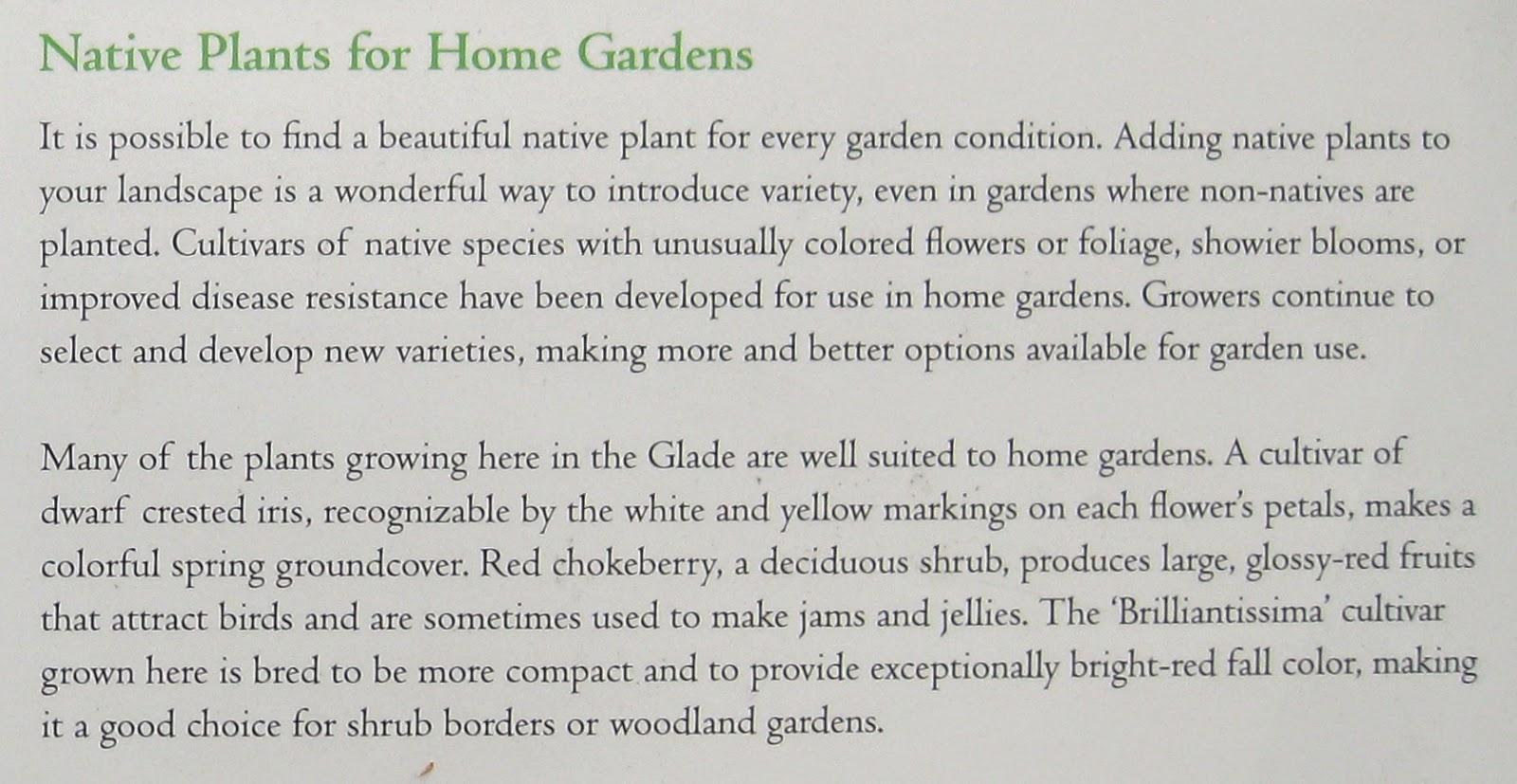 Think Global, Garden Local: New York Botanical Garden's