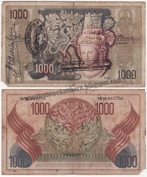 uang seribu tahun jadul