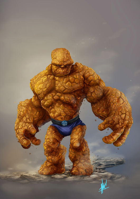 Fantastic Four Concept Art