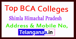 Top BCA Colleges in Shimla Himachal Pradesh