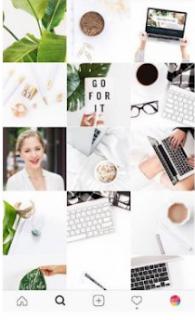 Cara Membuat Pola Gambar Bersambung Pada Feed Instagram