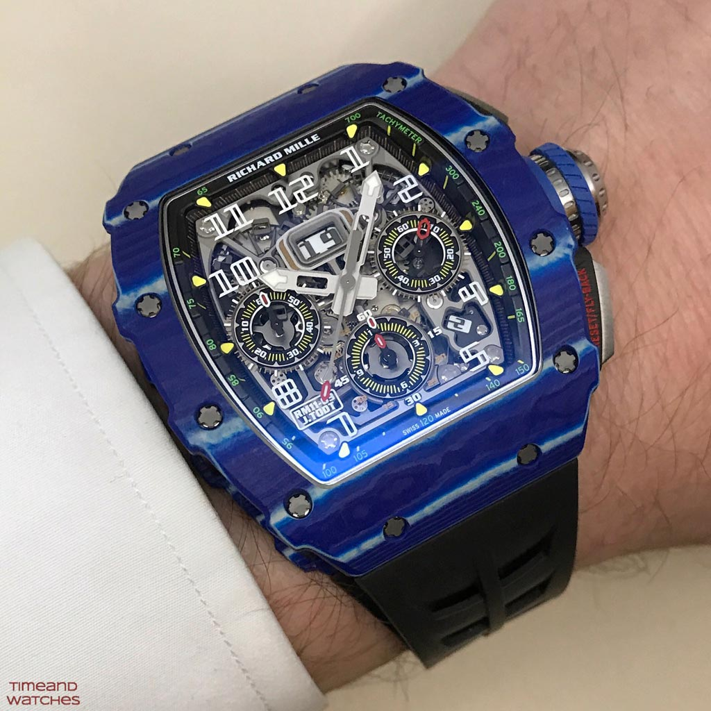Richard Mille Jean Todt 50th Anniversary Collection