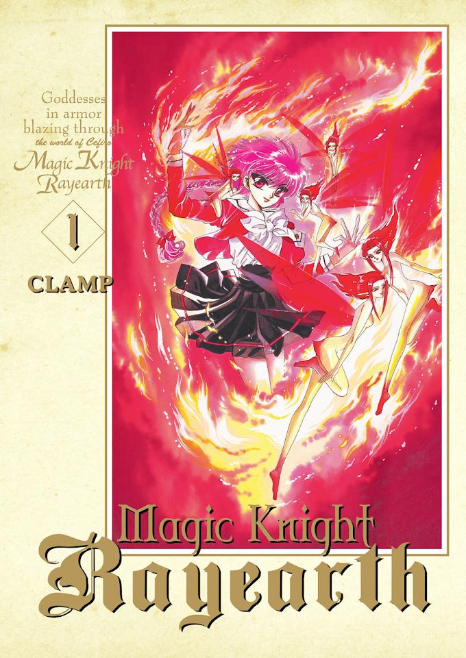 Bo takich trzech jak one to nie ma ani jednej - recenzja mangi Magic Knight Rayearth (tom 1)