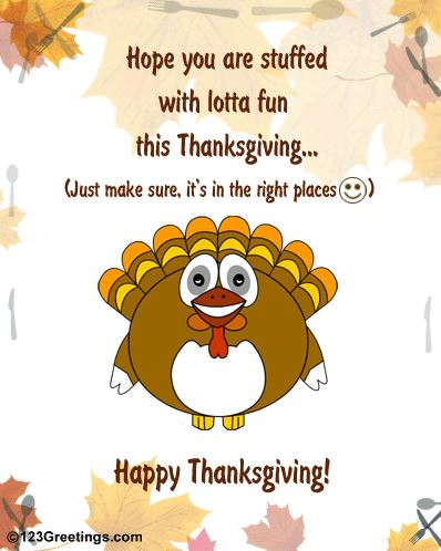 Happy Thanksgiving Wishes Funny