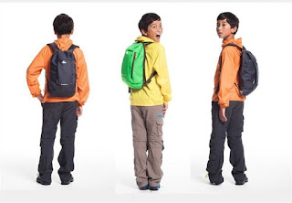 Quechua kids backpacks
