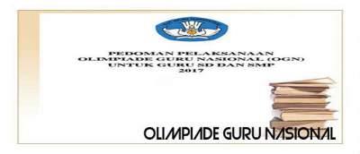 Kegiatan Olimpiade Guru Nasional (OGN)
