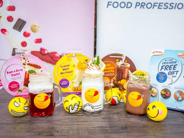 Anchor Food Professionals Launches Moodmojee Drinks at La Taste Penang and Kedah