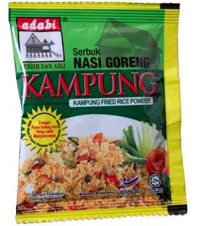 Resepi Nasi Goreng Kampung Adabi