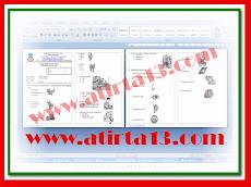 Contoh Soal UAS Mapel Bahasa Indonesia KTSP Kelas 1 Format Words.Doc