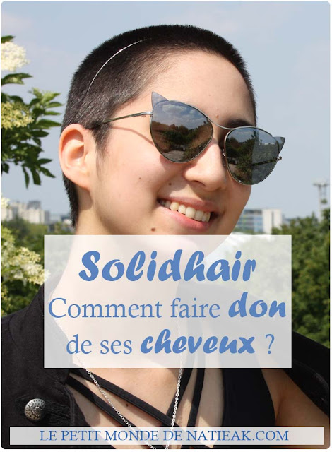 Solidhair faire don de ses cheveux