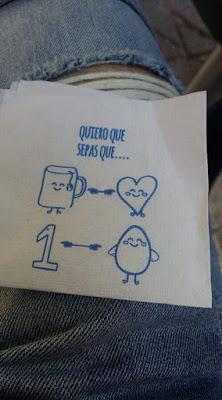 Quiero que sepas que te quiero un huevo