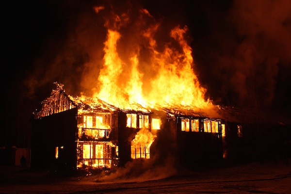 Image result for Husband plans to marry new wife 2 months into marriage, wife burns home
