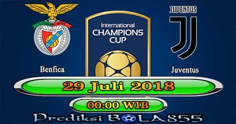 Prediksi Bola855 Benfica vs Juventus 29 Juli 2018