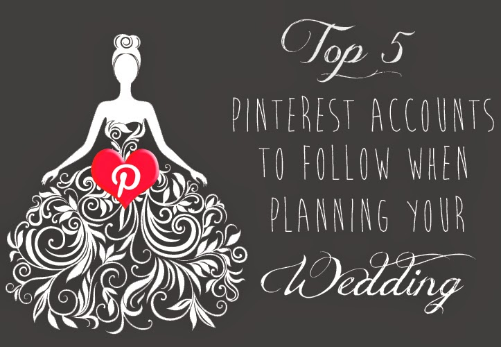 Best pinterest accounts to follow when planning your wedding | DollfaceBlogs