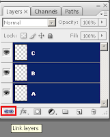 Fungsi Palet Layers Pada Adobe Photoshop, fungsi link di photoshop