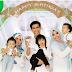 Ashraf Bahagia Bersama Dua Isteri & Tiga Anak