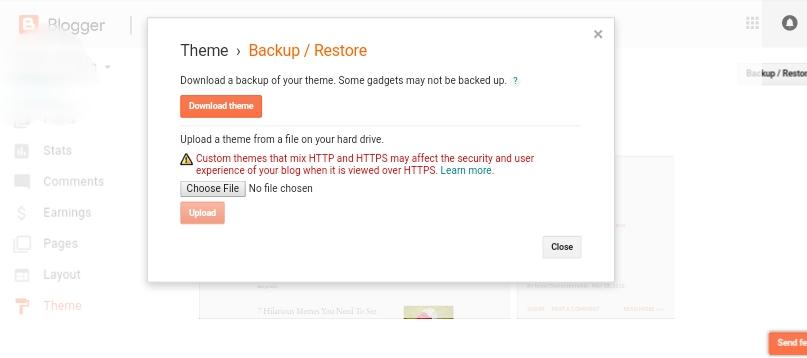 Backup/restore