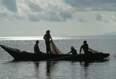 Poema-Los pescadores