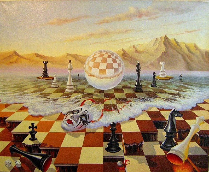 12-Fools-Rule-the-World-Gyuri-Lohmuller-Surreal-Oil-Paintings-full-of-Meaning-www-designstack-co